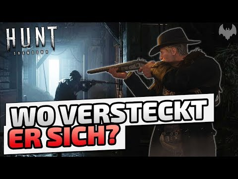 Wo versteckt er sich? Enzo Fontaine  ♠ Hunt: Showdown ♠  Deutsch German  Dhalucard