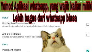 Download lagu Mod aplikasi whatsapp, yang keren di banding whatsapp biasa