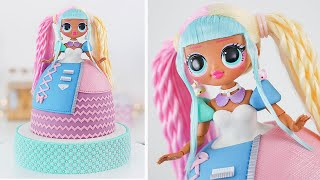 LOL Surprise  OMG Doll Cake  Candylicious  Tan Dulce