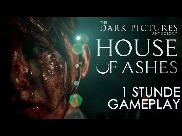 The Dark Pictures: House of Ashes 💀 Eine Stunde Gameplay [Deutsch | German | Preview]