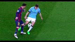 Lionel Messi - Destroyed Manchester City Players ● 2015 HD
