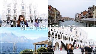 ITALY VLOG 2015 : MILAN,VENICE,LAKE COMO