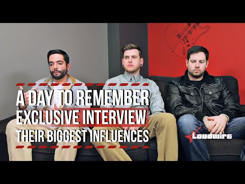A Day To Remember Talk About Their Biggest Influences