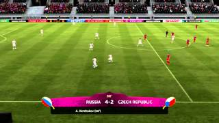 Let's Play FIFA 12:Euro 2012 Part 2:Начало