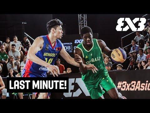 TISSOT Last Minute! - Australia v Mongolia - FIBA 3x3 Asia Cup 2018