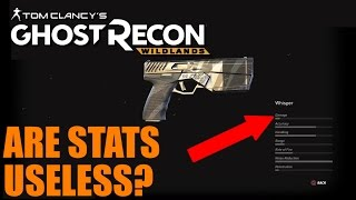 Testing the Whisper Pistol in GHOST RECON WILDLANDS - Damage and Noise Reduction