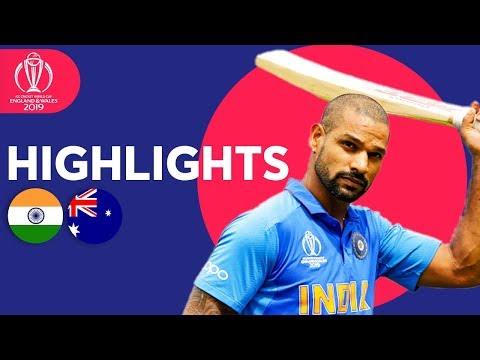 dhawan-strikes-super-century!-|-india-vs-australia---match-highlights-|-icc-cricket-world-cup-2019