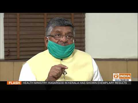 Special interview with Union Minister Ravi Shankar Prasad