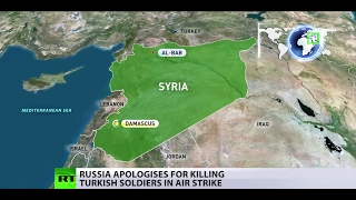 3 Turkish soldiers accidentally killed in Russian airstrike in Syria, Moscow confirms