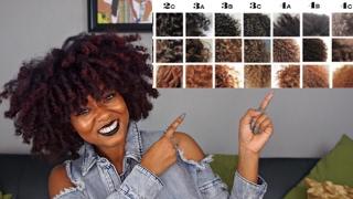 Natural Hair Types & Texture Tips    Curl Pattern, Porosity, Density...