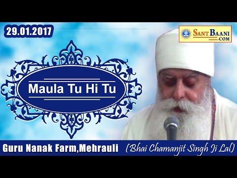 Maula Tu Hi Tu Hi - Bhai Chamanjit Singh Ji Lal | Guru Nanak Farm | Chhatarpur , Mehruali