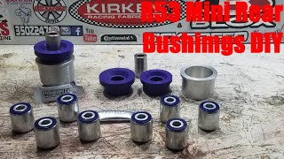 homepage tile video photo for R53 Mini Cooper S Every Rear Bushing Install DIY (Part 2 of 2)