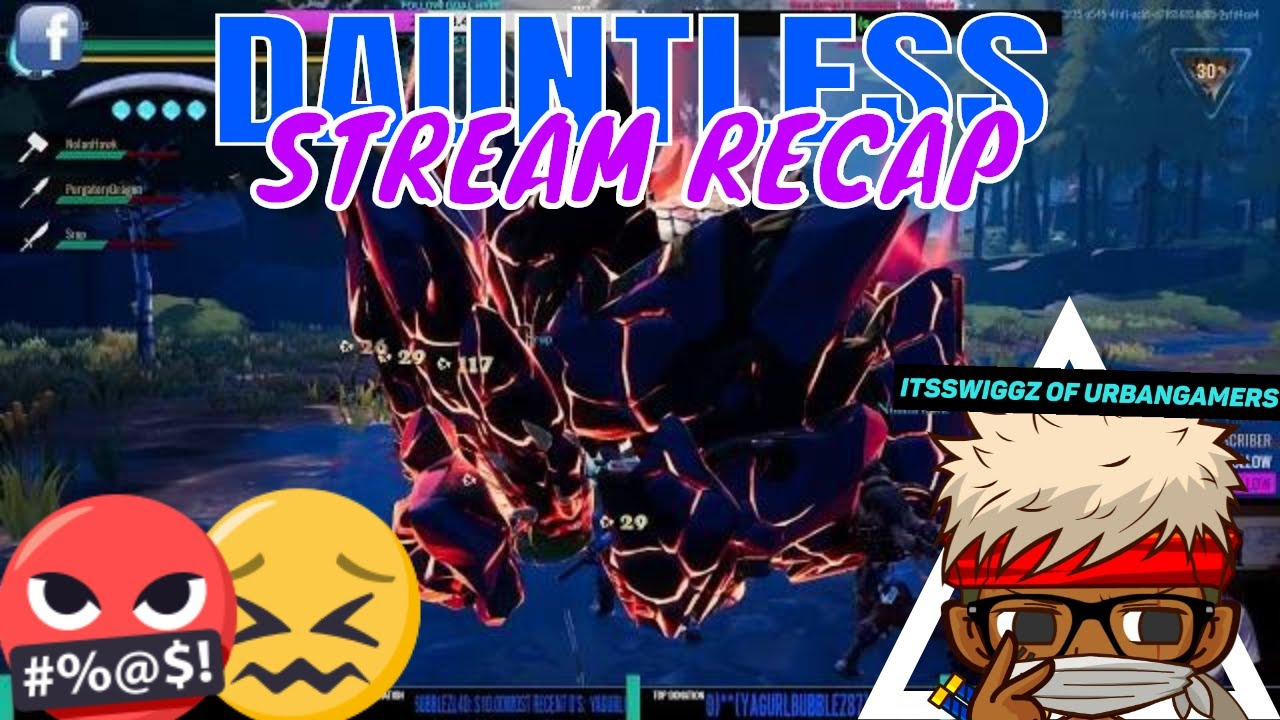 DAUNTLESS! // WITH ARSHENIQUE OF UGGC  // Questing HUNT Skarn Fight! //  Good Battle Alot OF DEF