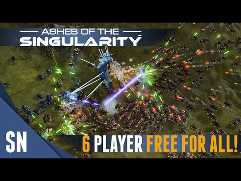 Ashes of the Singularity - Multiplayer Gameplay #5: EPIC WAR