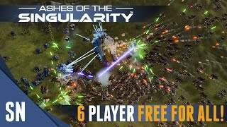 Ashes of the Singularity - Multiplayer Gameplay #5: EPIC WAR!
