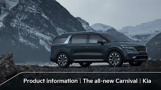 Product information|The all-new Carnival|Kia