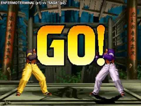 """Fightcade Replay KOF98 - ENFERMOTERMINAL (Chile) vs """"Saga"""" (Mexico)"""
