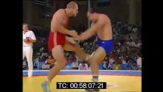 Alexander Karelin vs Tomas Johansson - Barcelona 1992