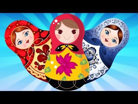 Мы милашки куклы неваляшки - Песенки для самых маленьких (С СУБТИТРАМИ)