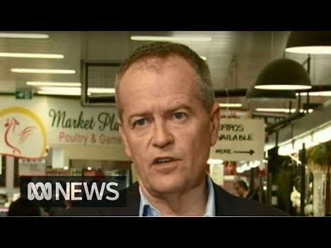 Bill Shorten praises outgoing Prime Minister Malcolm Turnbull