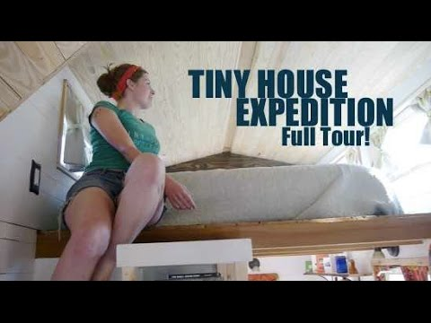 Tiny House Expedition Home On Wheels Tour At Tiny House