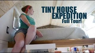 Tiny House Expedition- Home-On-Wheels Tour (at Tiny House Jamboree!)