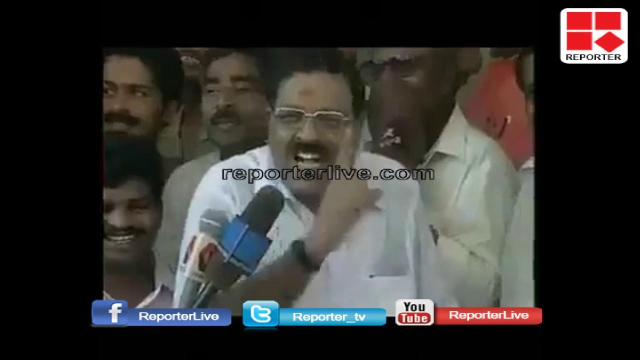 Rajmohan Unnithan raises serious allegations against K Muraleedharan│Reporter Live