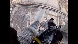 Высотный монтаж на Останкинской башне
