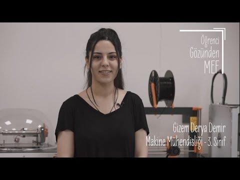 Öğrenci Gözünden MEF Üniversitesi / Gizem Derya Demir - Makine Mühendisliği