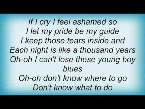 Ben E. King - Young Boy Blues Lyrics