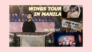 BTS WINGS TOUR IN MANILA 2017   ASHLEY PARUNGAO (Philippines)