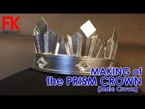 DIY Crown - Male Prism Crown (my own design)