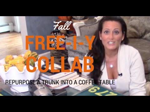 Fall 2015 free i y collab turn a trunk into a coffee for How to turn a trunk into a coffee table
