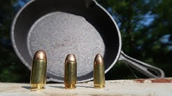 9mm vs .40 Cal vs .45 ACP - Cast Iron Skillets