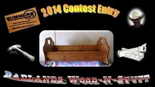 "Summers Woodworking 2x4 Contest Entry ""doll Cradle"""