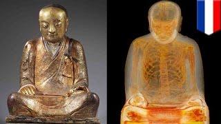 Ilmuan menemukan jasad biarawan dalam patung Budha  - Tomonews