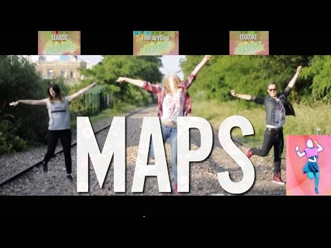 """Just Dance """"Maps"""" Maroon 5 