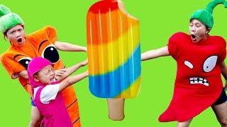 MASHA BERNIUKAS VAIKAI VAIKAMS #JOHNNYJOHNNYIGENPAPI - kinderlieder und lernen farben #211