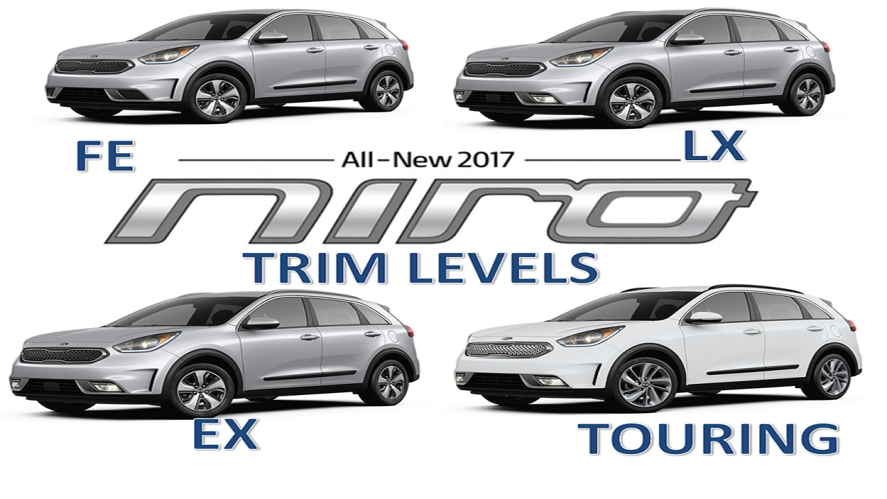 2017 Kia Niro Trim Levelodels