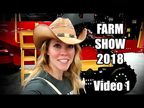 Visiting the National Farm Machinery Show 2018 in Louiseville Kentucky! (video 1of 2)