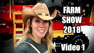 Visiting the National Farm Machinery Show 2018 in Louisville Kentucky! (video 1of 2)