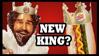 Burger King s Hot New Wiener! - Food Feeder