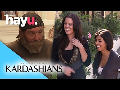 Khloé Helps A Homeless Man | Keeping Up With The Kardashians