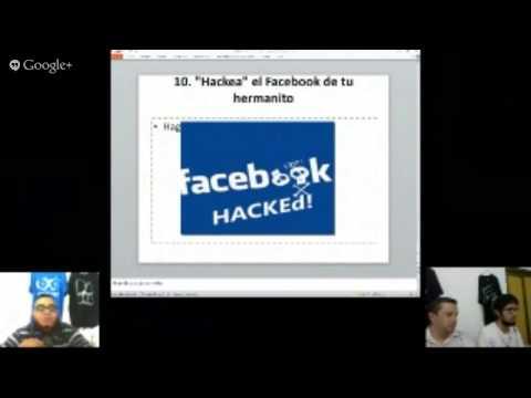 """Programa en vivo: Como ser """"Hacker"""" en 10 sencillos pasos."""
