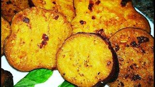 батат жареный на сковороде /Сладкий картофель рецепт/ sweet potato