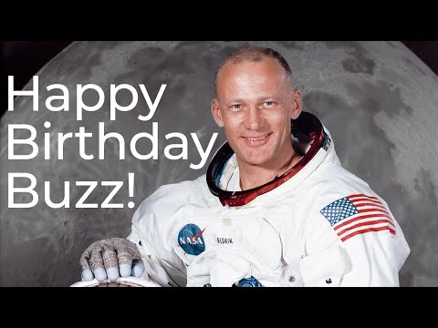 Happy 90th Birthday Buzz Aldrin!