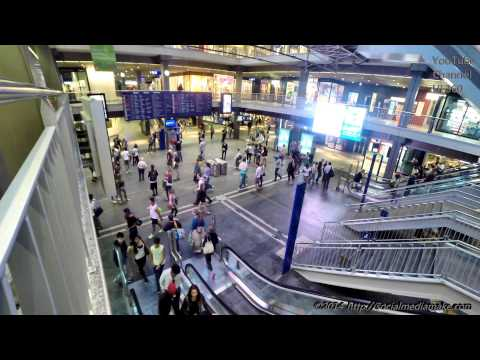 GoPro | Bern City Center | A Walk Though Bern | Town Center | Bahnhof |#2