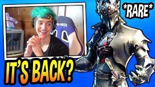 Ninja Reacts To New *LEAKED* Black Knight Legendary Skin