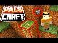 SKETCH'S SECRET MOUNTAIN BASE! | PalsCraft #1