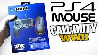 CALL OF DUTY WWII w/ PS4 MOUSE - OVERPOWERED OR FAILURE? Unboxing HORI Tactical Assault Commander